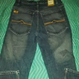 PACO straight relaxed size 33-32 blue jeans
